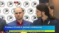 Sledujte pravidelný briefing Pirátské strany - 26. 6. 2018