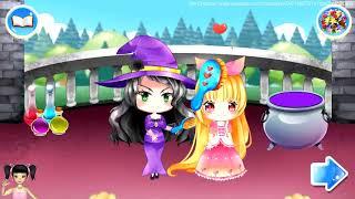 Thơ Nguyễn chơi game giải cứu công chúa tóc mây