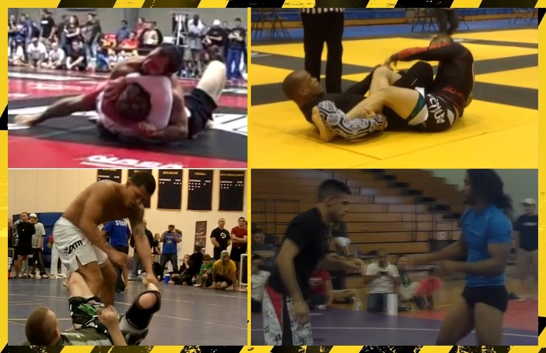 Best of UFC Fighters in Grappling Tournaments