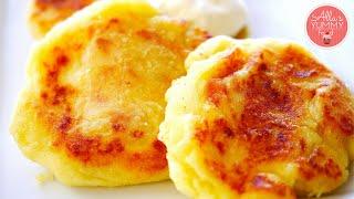 Potato Cutlets With Cheese | Картофельные котлеты с сыром