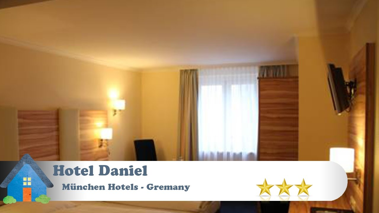 hotel daniel m nchen hotels germany youtube. Black Bedroom Furniture Sets. Home Design Ideas