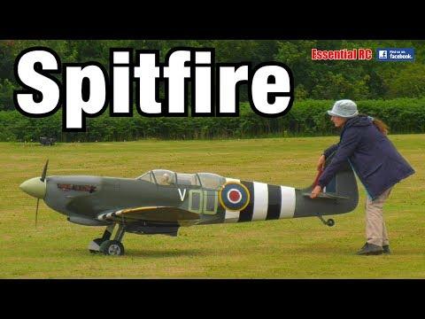 SPITFIRE: Radio controlled British RAF Fighter