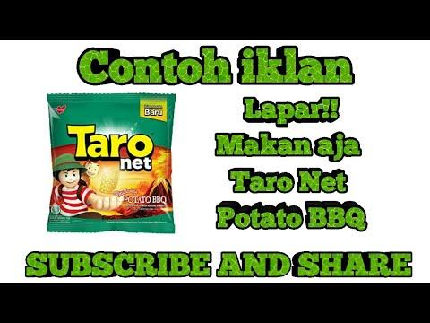 contoh iklan makanan ringan