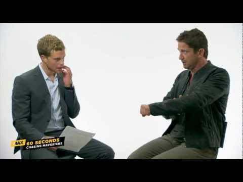 MAX 60 Seconds with Gerard Butler (Chasing Mavericks)