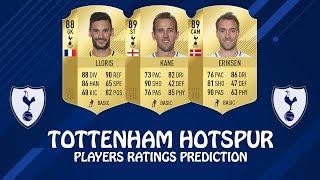 FIFA 19 | TOTTENHAM HOTSPUR PLAYERS RATINGS PREDICTION | w/ Kane, Eriksen & Lloris