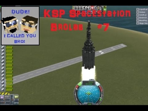 KSP SpaceStation: #7 A New Launch Vehicle