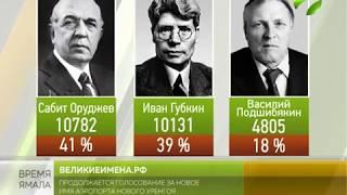 Великие имена России. Остались  считаные дни до окончания голосования