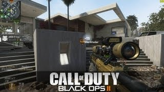 Black Ops 2 PC: Sniper Ballista Gameplay