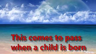 when a child was born - Karaoke