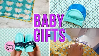 Easy Baby Gift Ideas 🍼 5 Free Sewing Patterns + Tutorials