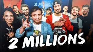 ON FÊTE NOS 2 MILLIONS D'ABONNÉS EN LIVE (Best Of)