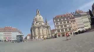 Дрезден(Дрезден, Германия. Осмотр достопримечательностей города, старый город, жилые кварталы, набережная Эльбы,..., 2015-08-22T08:39:08.000Z)