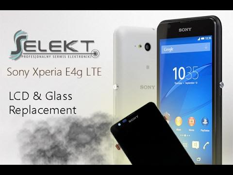 Sony Xperia E4g LCD & Glass Full set Replacement (E2003) / Wymiana wyświetlacza   Selekt