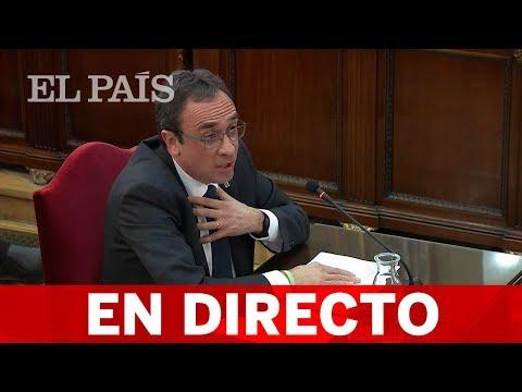 DIRECTO: JUICIO AL 'PROCÉS' | Josep RULL declara en la quinta jornada
