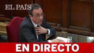DIRECTO: JUICIO del 'PROCÉS' | Josep RULL declara en la quinta jornada