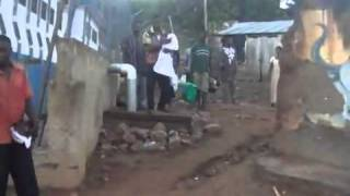 Breaking Yoke Ministry International - Prophet Cephas Tamakloe demolished a shrine (part 1)