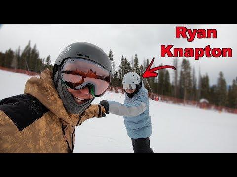 Snowboarding Breckenridge With Ryan Knapton - (Season 3, Day 34)