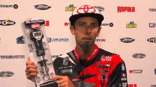 New Rapala 50lb Fish Gripper Scale with Mike Iaconelli | ICAST 2013