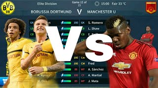 Dortmund vs Manchester United | Dream League Soccer 2019 | Android Gameplay #3