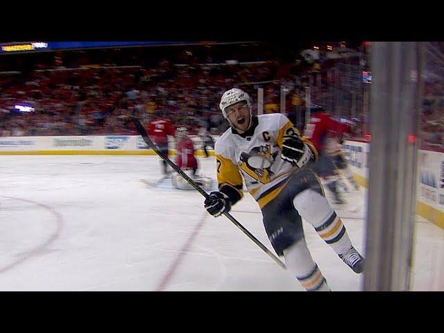 Sidney Crosby's clutch marker ties it in the 3rd