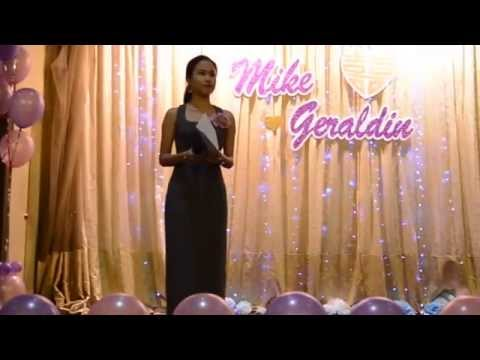 Emcee Joee's Debut at Mike & Geraldine's Wedding 27th June 2015