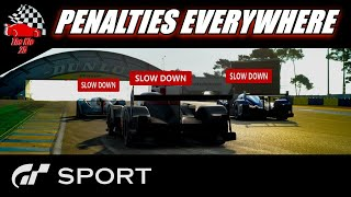 GT Sport FIA Penalty Time - Nations Live