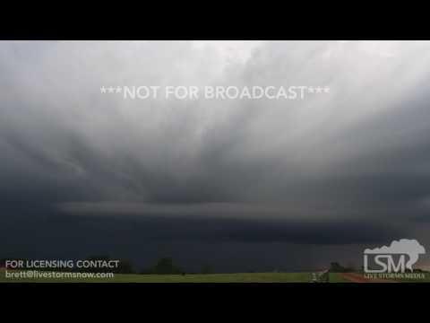 05-19-2017 Anderson, Missouri - AMAZING Storm Structure!
