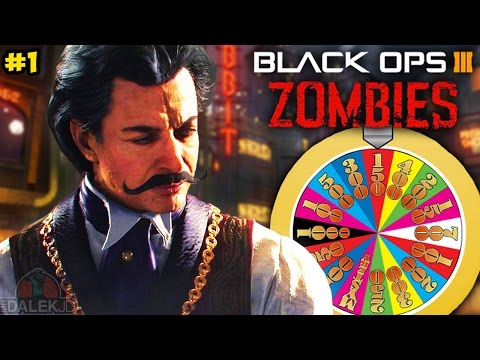 "Black Ops 3 ZOMBIES ""ROULETTE CHALLENGE!"" - CUSTOM MODE on SHADOWS OF EVIL Part 1! (BO3 Zombies)"