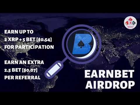 earnbet-airdrop-|-up-to-2-xrp-+-5-bet-+-btc-[$0.5-to-$10]-and-2.5-bet-per-referral