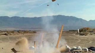 M-100 Firecracker Vs Dresser!!!