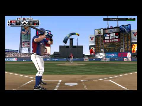 MLB The Show 13, Phillies vs. Rangers at Shea Stadium
