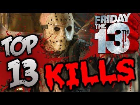 Friday The 13th - Top 13 Kills