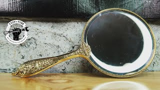 Rusted Inside, Hand Mirror Restoration