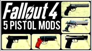 Fallout 4: ▶️5 Pistol Mods ◀️ #4   Killerkev