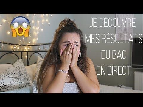 MA RÉACTION EN LIVE.... | RÉSULTATS DU BAC 2018