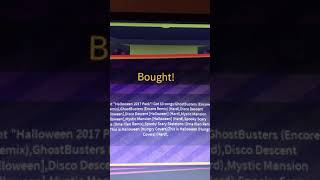 Roblox robeats buying hallowen pack and showing all my songs
