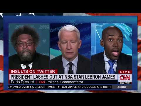 "Dr. Cornel West Takes  Paris Dennard To SCH00L, ""Paris, DON'T Get in the Gutter With a GANGSTER"""