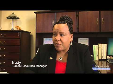 Meet Our People - Trudy, Human Resources Manager with the Office of Management and Budget