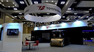 CES2019 Toyota Boshoku booth introduction movie