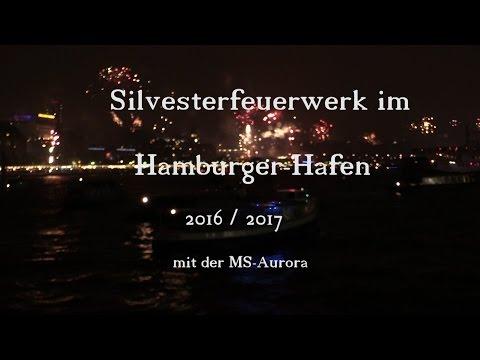 Silvester im Hamburger Hafen 2016 - 2017