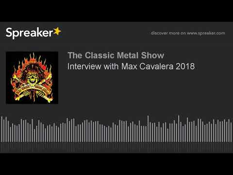 Interview with Max Cavalera 2018