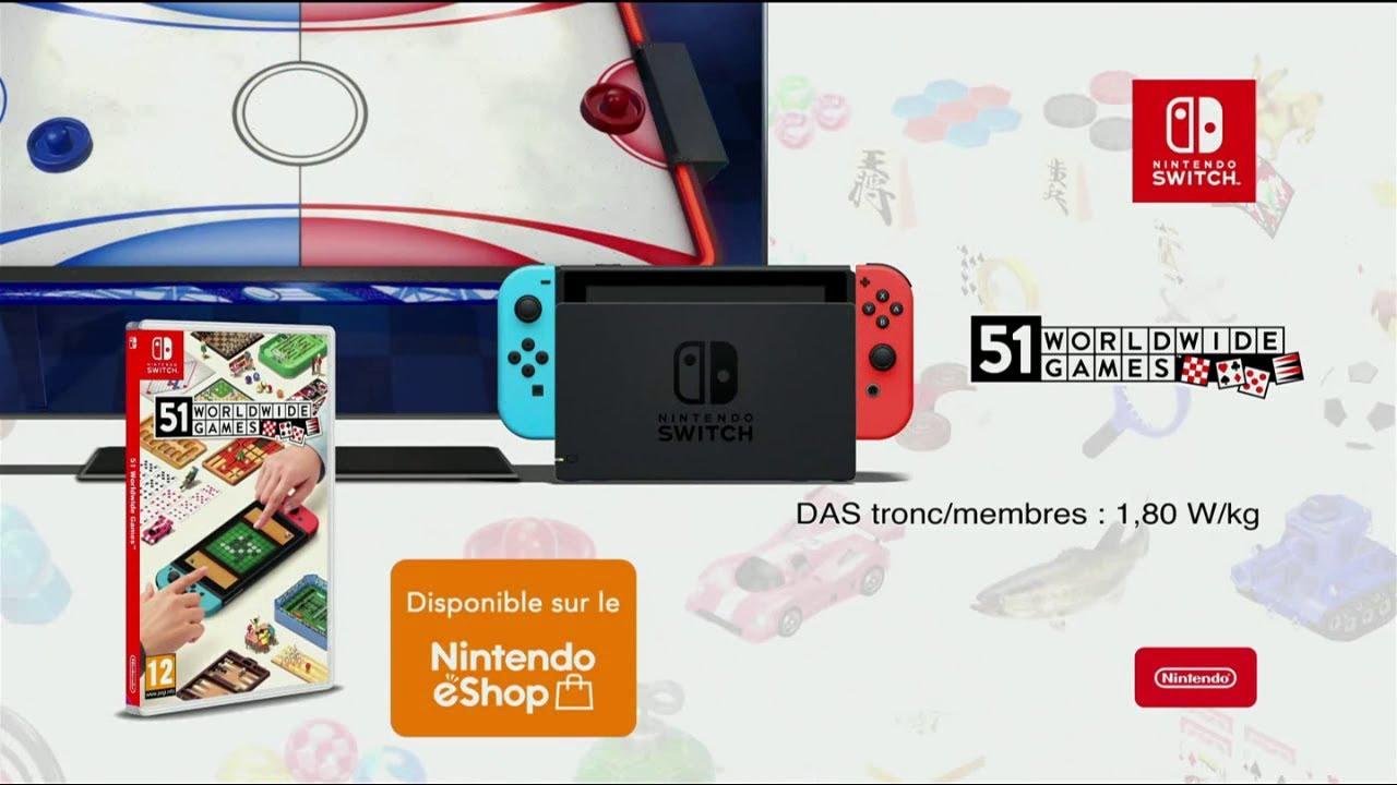 """Musique de la pub 51 worldwide games Nintendo Switch """"exclusivement sur Nintendo Switch""""  2021"""