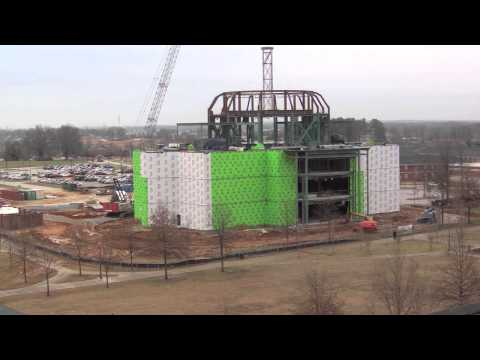 Time Lapse of Union's New Library Construction