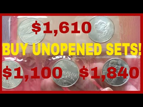 RARE AND VALUABLE COINS WORTH MONEY! 2005 UNCIRCULATED SET TO LOOK FOR!!