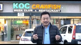 "MC VIET THAO- CBL (523)- ""KOC Crawfish- Beer Club & Restaurant"" in Little Saigon- California."