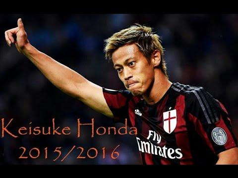 Keisuke Honda 2015/2016 Goal & Assist in AC Milan