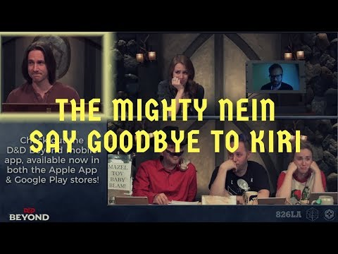 The Mighty Nein Say Goodbye to Kiri