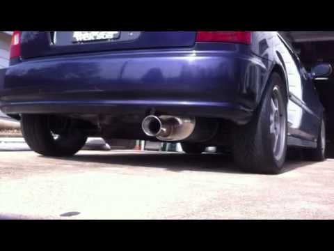 Civic Apexi Ws2 Exhaust With Header