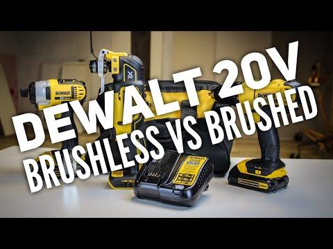 DEWALT 20v Brushless VS Brushed