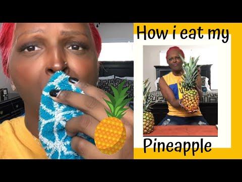 How I eat my pineapple 🍍🍍